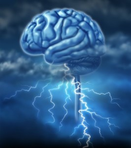Brain Working at Lightning Speed