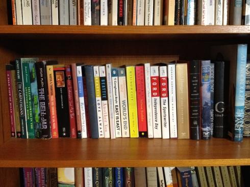 My gym bookshelves 007